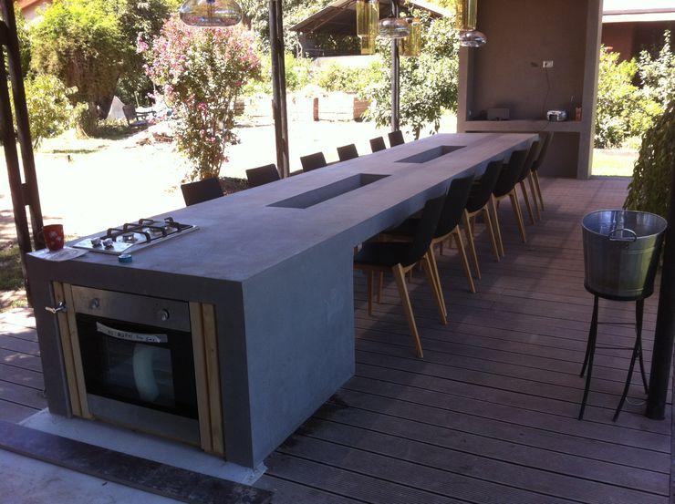 [ER+] Arquitectura y Construcción Varandas, alpendres e terraços minimalistas