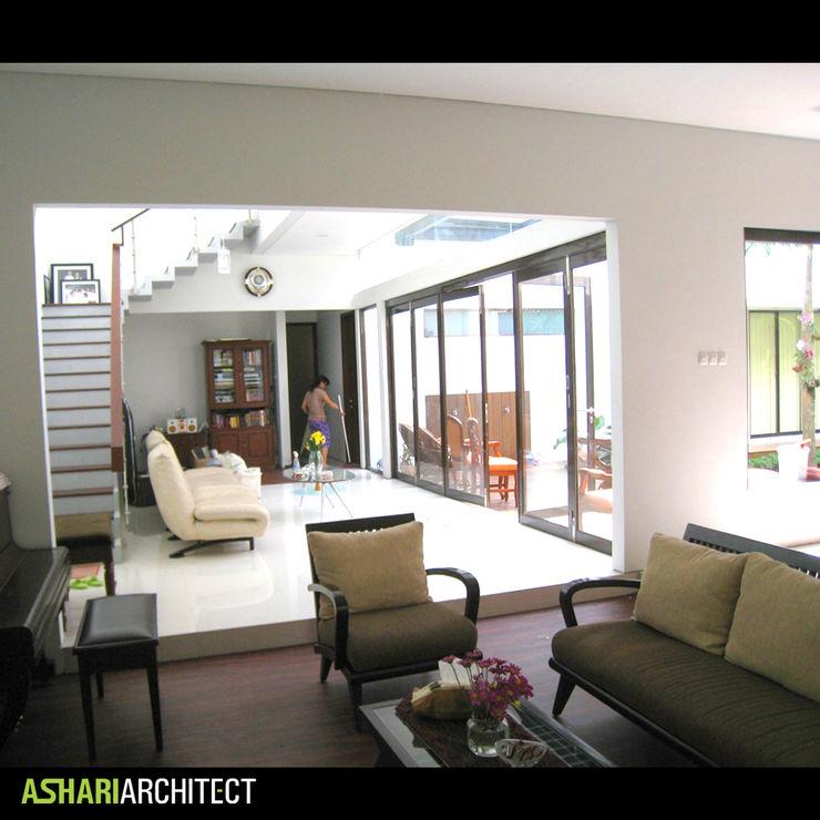 Ashari Architect Modern Oturma Odası