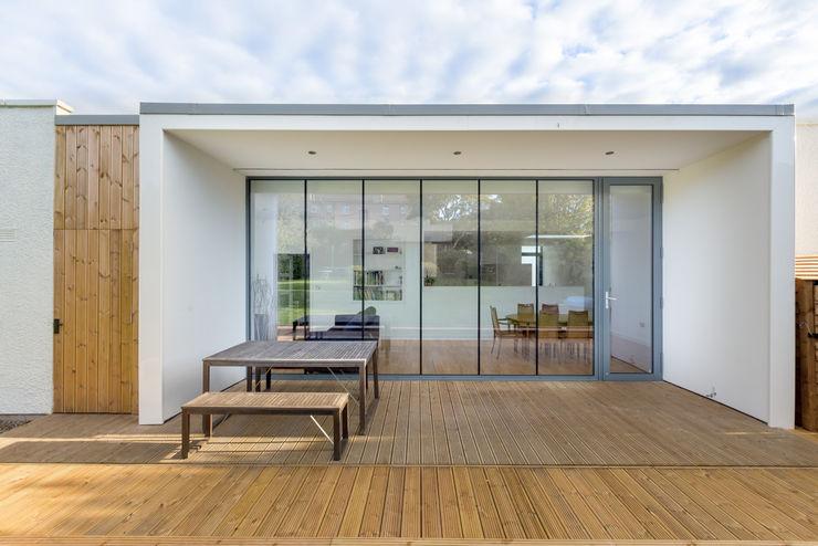 Large Glazed Extension Capital A Architecture Maison individuelle