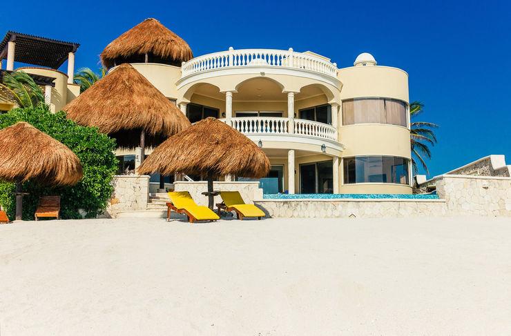 Villa Escapar DHI Arquitectos y Constructores de la Riviera Maya Villas Amarillo