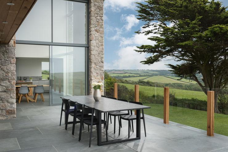 Contemporary Replacement Dwelling, Cubert Laurence Associates Moderne Häuser Granit