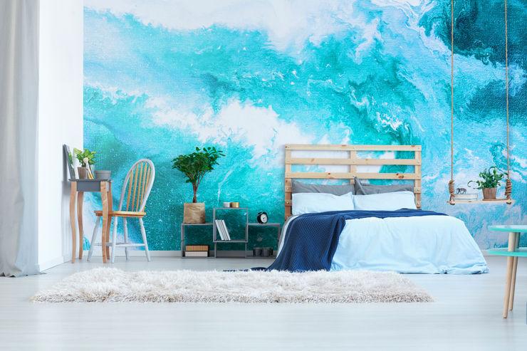 Heavenly Ocean Pixers Kamar Tidur Modern Blue