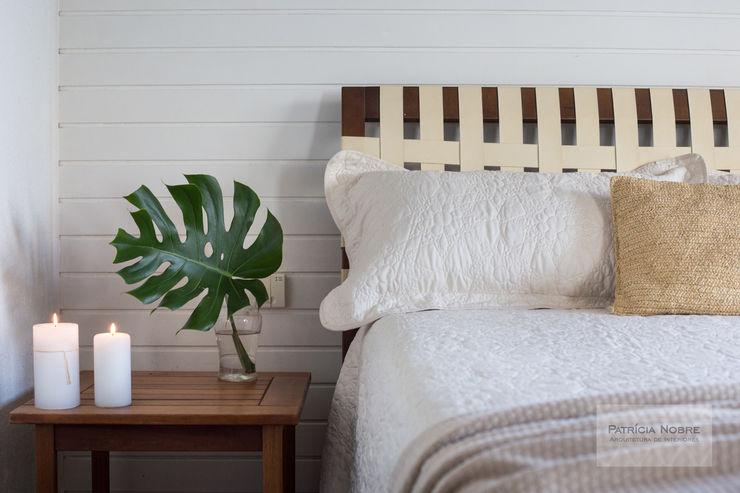 Patrícia Nobre - Arquitetura de Interiores Mediterranean style bedroom Beige