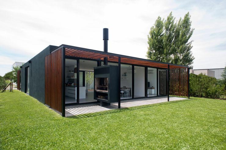 Luciano Kruk arquitectos Casas de estilo moderno