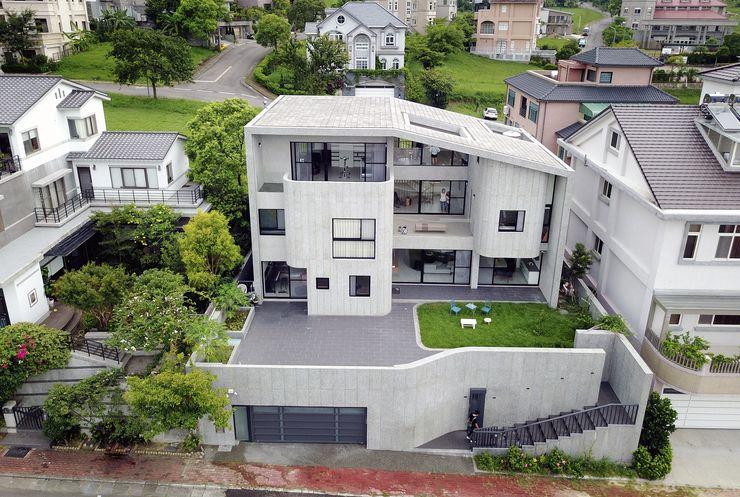 行一建築 _ Yuan Architects Rumah Modern
