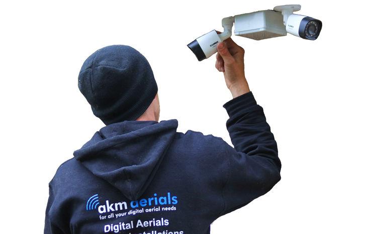 CCTV installation Tetbury Tetbury Aerials Electronics Metal Black