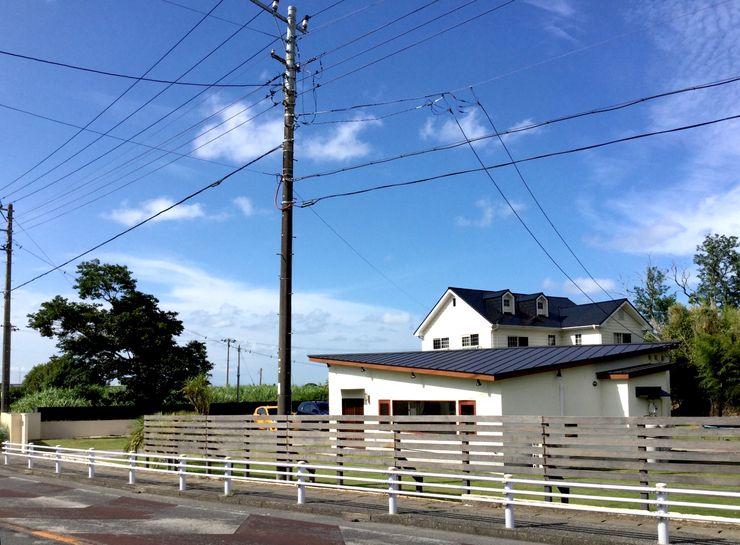 tai_tai STUDIO Rumah Gaya Rustic Blue