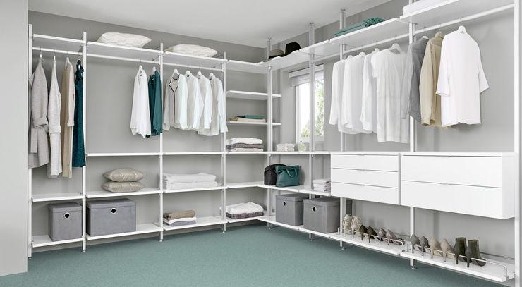 CLOS-IT - Dressing Room Shelving System Regalraum UK Classic style dressing room