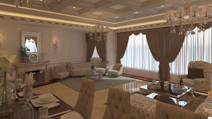 Villa 311 Rêny Modern Dining Room Beige