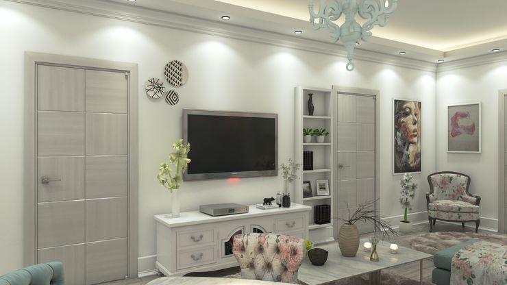 Villa 311 Rêny Modern Living Room Multicolored