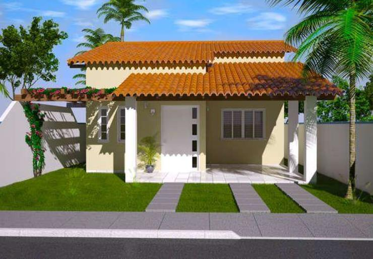 pia arquitectos Classic style houses