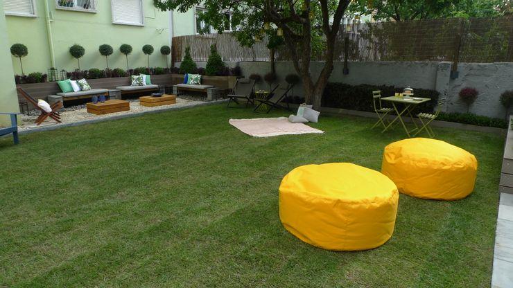 Jardim em Lisboa Rita Glória Interior Design unipessoal LDA Jardins modernos