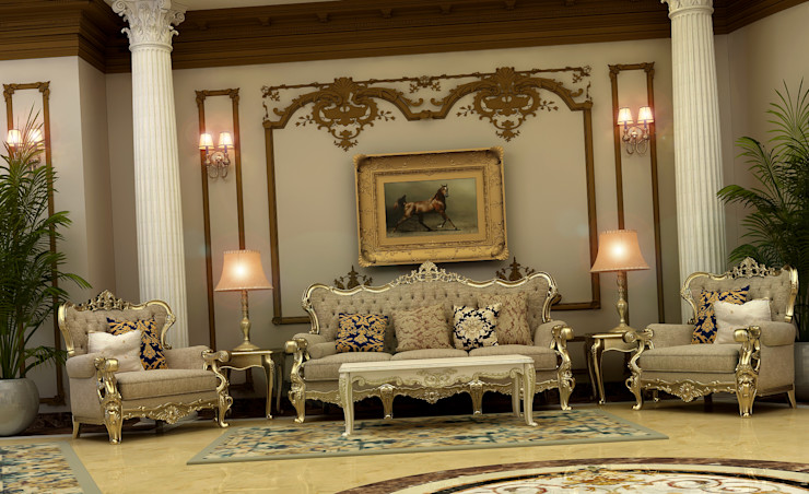 Villa Mrs. Nabila Rêny Living room