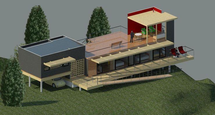 Casa DOMINO Arquitectura Amanda Perez Feliú
