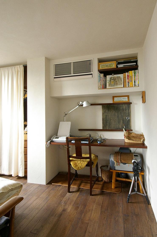 一級建築士事務所アールタイプ Escritórios modernos Madeira Branco
