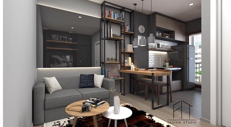 Condo Aspire sathorn-thapra Fit Design Studio ตกแต่งภายใน