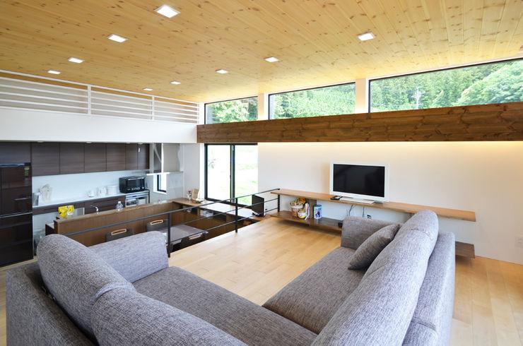 鎌田建築設計室 Modern living room