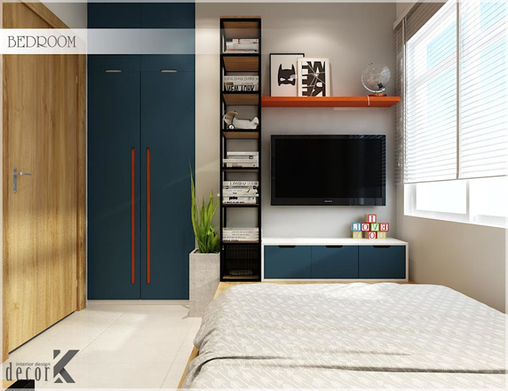 Công ty TNHH TMDV Decor KT Asian style bedroom
