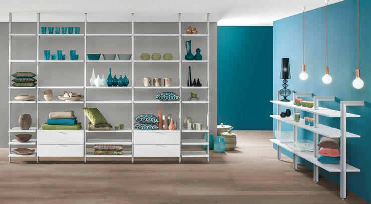 CLOS-IT—Dressing Room Shelving System Regalraum UK Modern living room