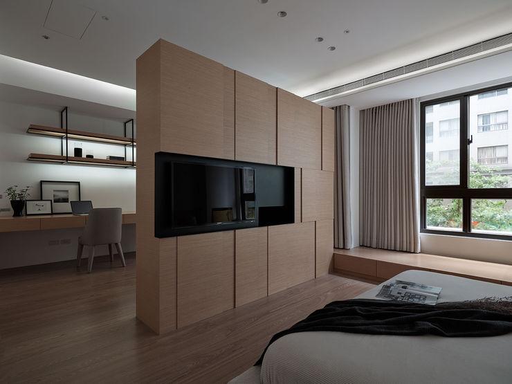 沐禾設計事務所 Quartos modernos