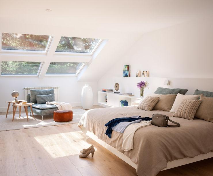 Dormitorio principal ESTER SANCHEZ LASTRA Dormitorios de estilo ecléctico