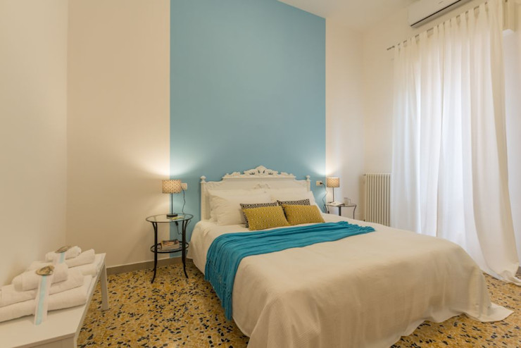 Anna Leone Architetto Home Stager Akdeniz Yatak Odası