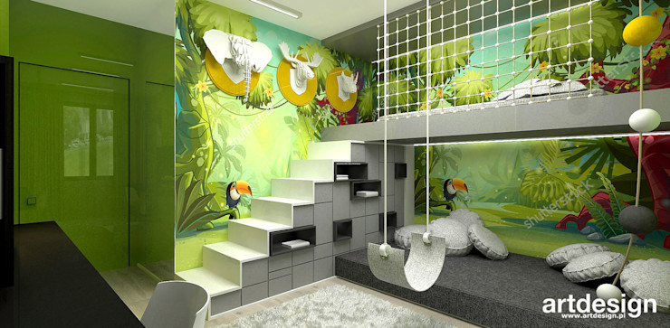 ARTDESIGN architektura wnętrz Dormitorios infantiles modernos