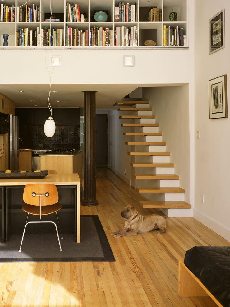 Kimberly Peck Architect Ruang Keluarga Modern