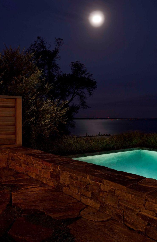 Shelter Island Pool & Terrace andretchelistcheffarchitects Infinity pool