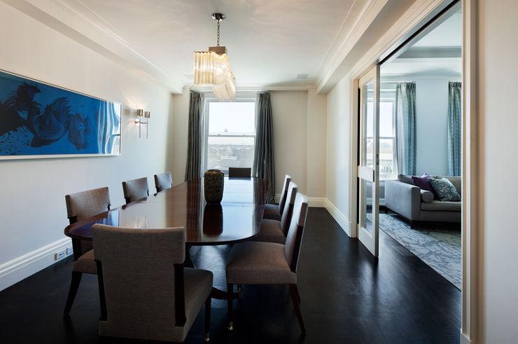 Fifth Avenue Apartment andretchelistcheffarchitects اتاق غذاخوری
