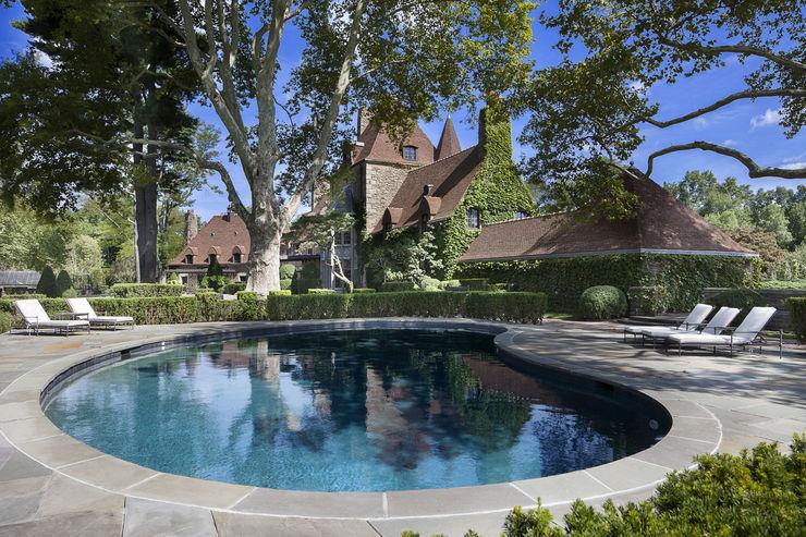 Round Hill Estate andretchelistcheffarchitects Garden Pool