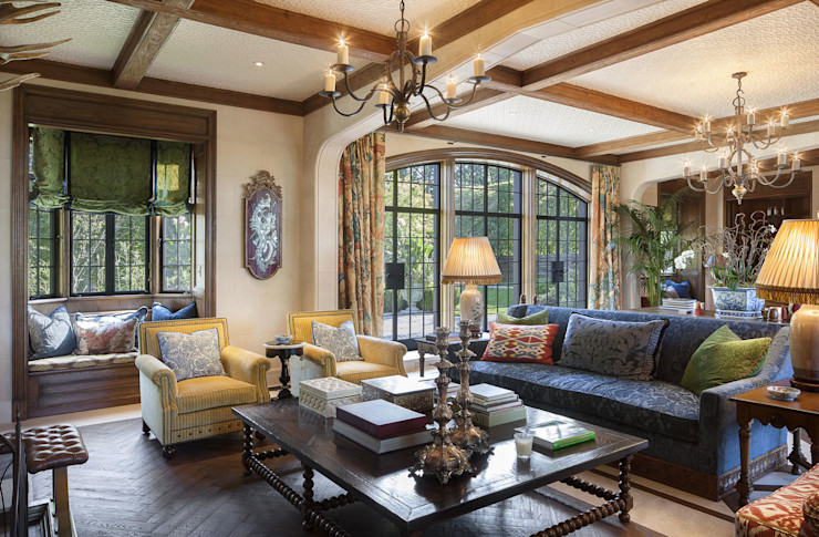Round Hill Estate andretchelistcheffarchitects Living room