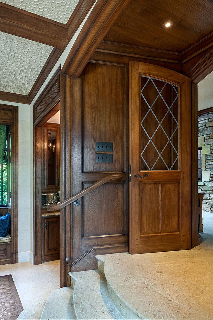 Round Hill Estate andretchelistcheffarchitects Wooden doors