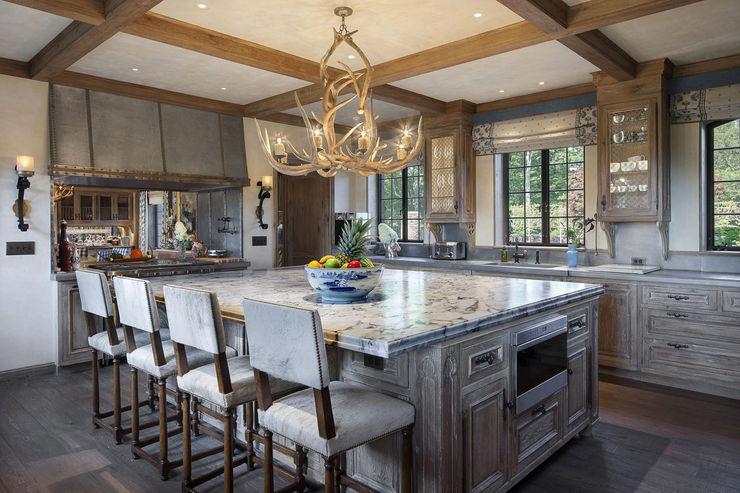 Round Hill Estate andretchelistcheffarchitects Kitchen
