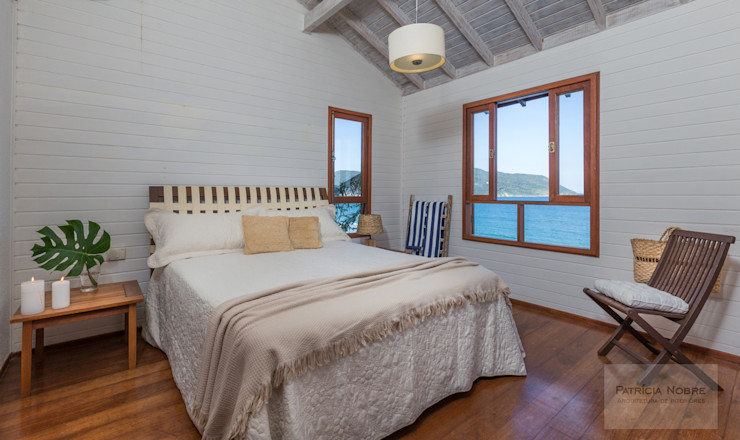 Patrícia Nobre - Arquitetura de Interiores Minimalist bedroom