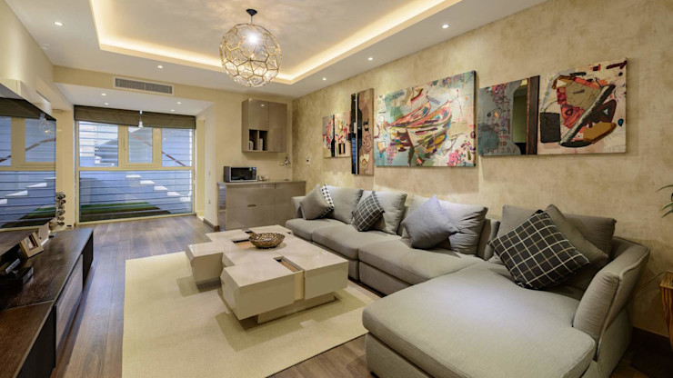 Hany Saad Innovations Modern living room