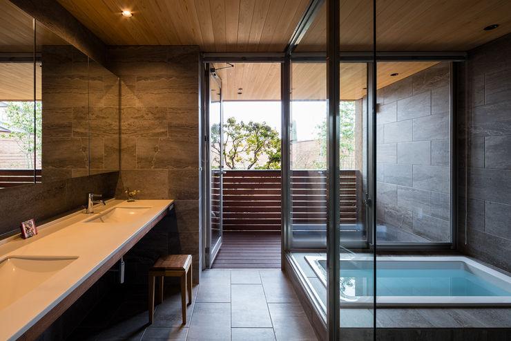 藤松建築設計室 Modern bathroom
