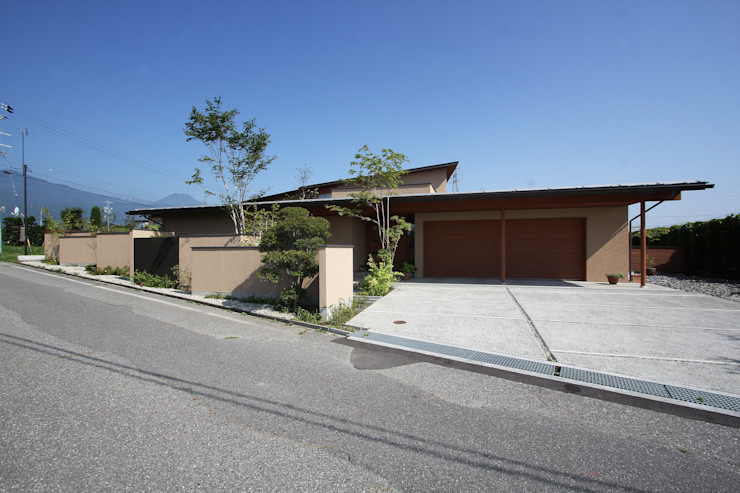 藤松建築設計室 Modern garage/shed
