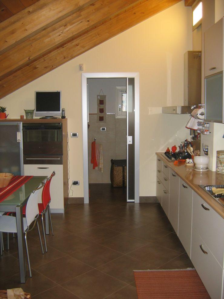 Appartamento A+M ArchitetturaTerapia® Cucina moderna