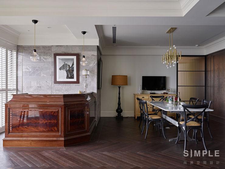 尚展空間設計 Colonial style dining room