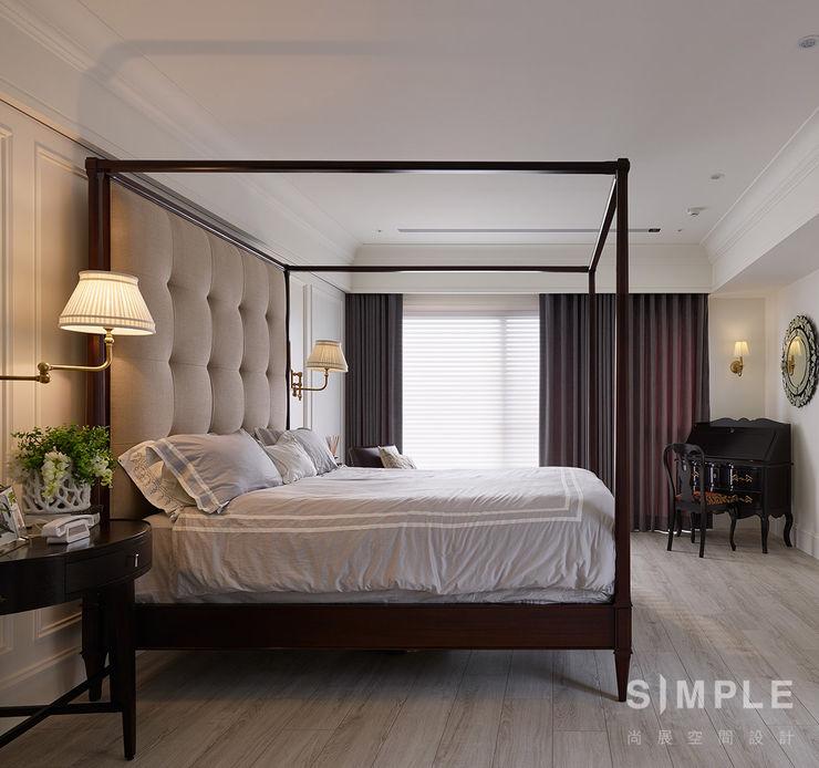 尚展空間設計 Colonial style bedroom