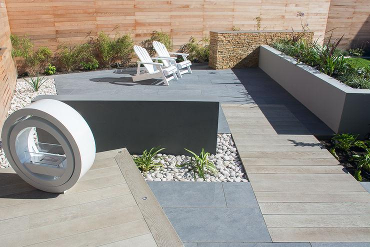 A Contemporary garden in Wales Robert Hughes Garden Design Modern garden