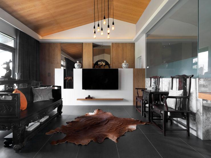夏沐森山設計整合 Living room