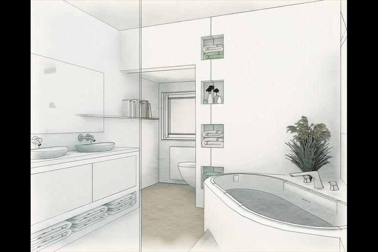 So fängt es manchmal an 3-D Planung Ulrich holz -Baddesign