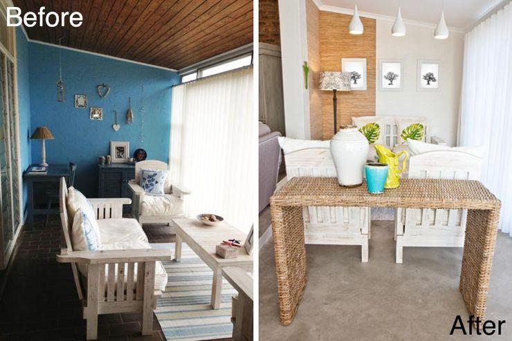 House de Goede Redesign Interiors Minimalist living room