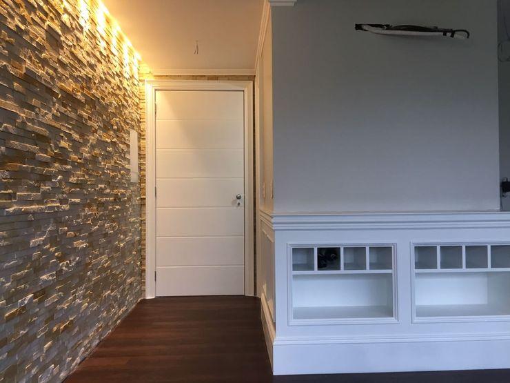 Rebello Pedras Decorativas Modern Living Room Stone Beige