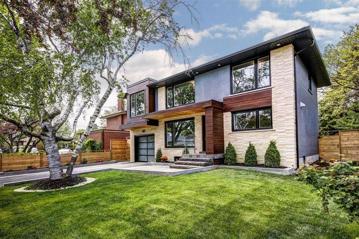 Elderfield Cres Contempo Studio Modern houses