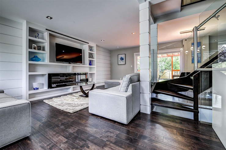 Elderfield Cres Contempo Studio Modern living room