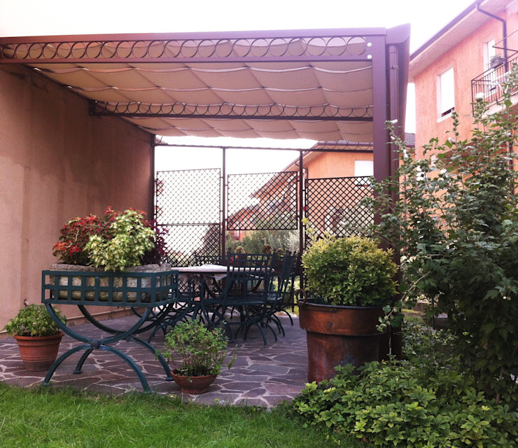 Tendasol Tropical style conservatory Iron/Steel Orange