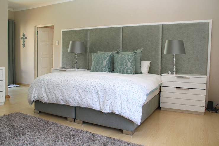 BHD Interiors 臥室床與床頭櫃